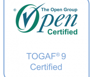 TOGAF certified badge